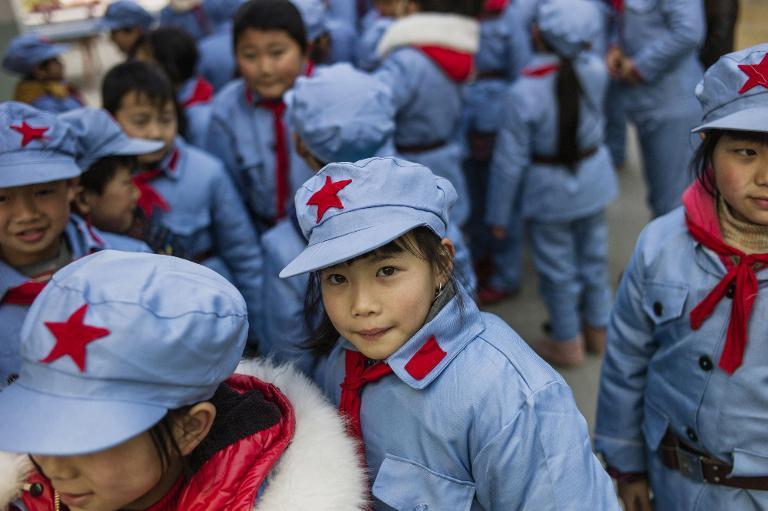 مدارس الجيش الأحمر الابتدائية تنتشر في الصين