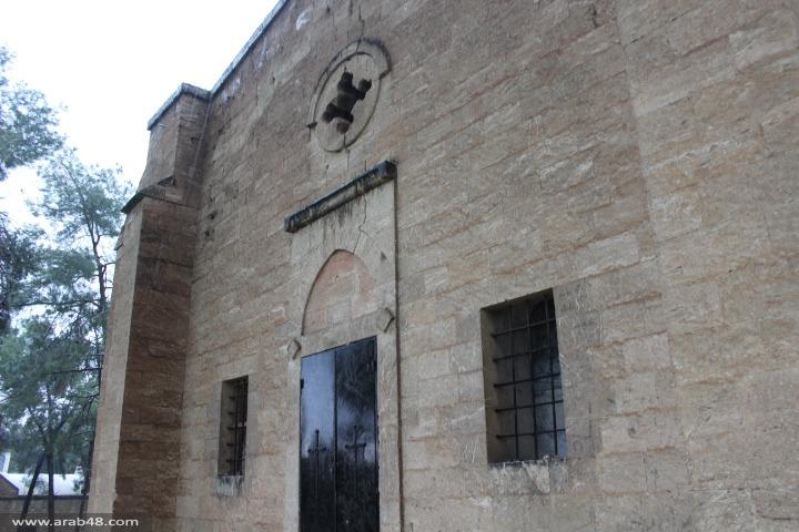 كنيسة معلول: أعمال ترميم تطمس رونقها المعماري