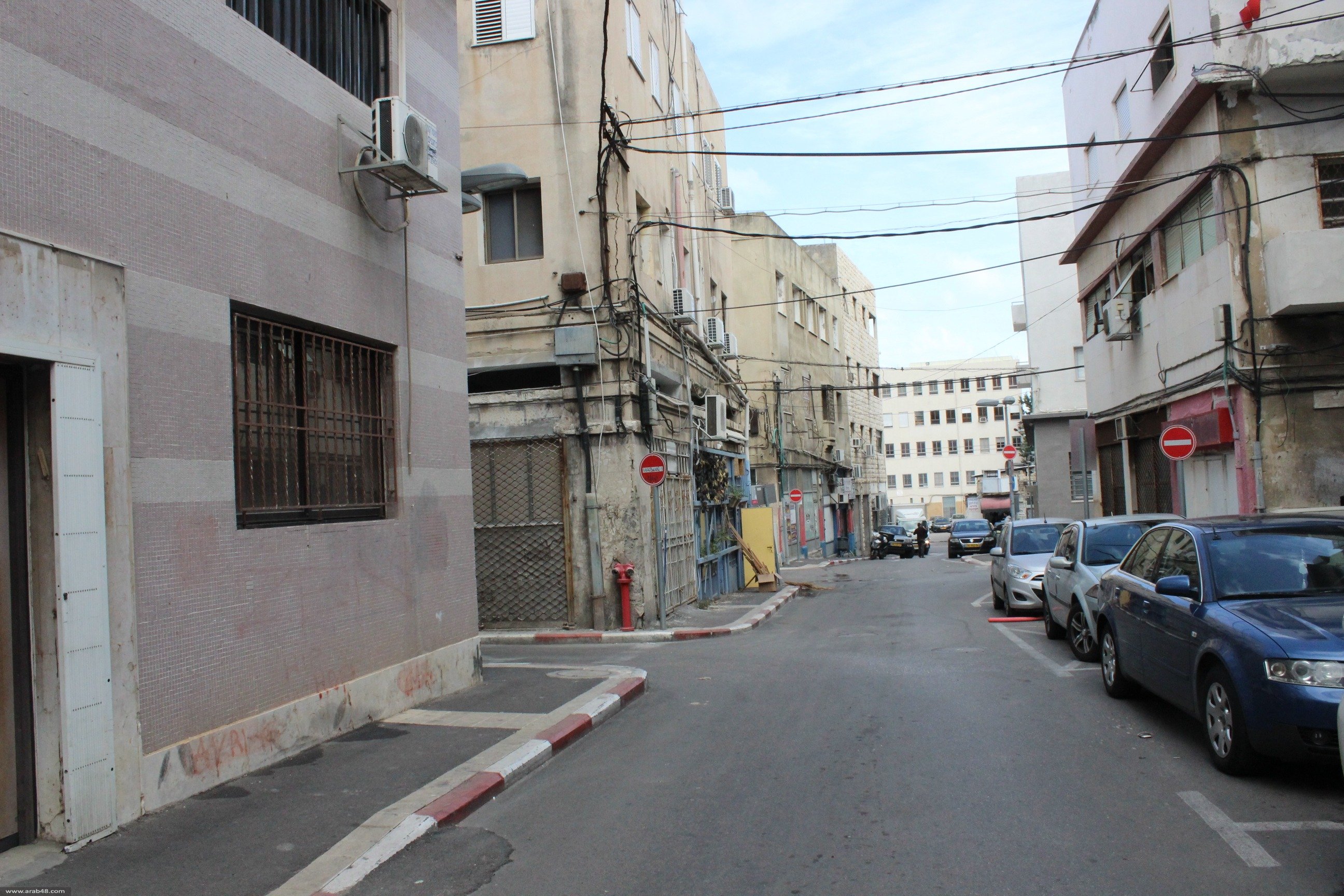 """""""البلدة التحتى"""" في حيفا: مخيّم لاجئين داخل المدينة"""