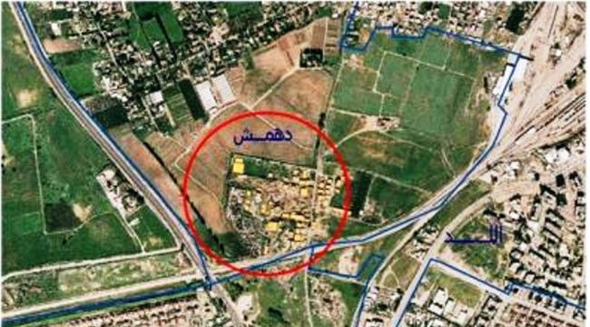 اللد: منع هدم 3 منازل في قرية دهمش