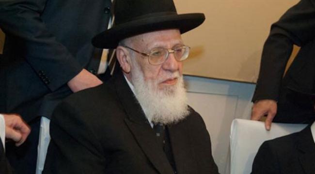 """الزعيم الروحي لحزب شاس يصف النشيد الوطني الإسرائيلي بأنه """"غبي"""""""