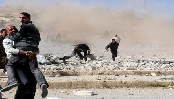 سوريا: 11 قتيلًا بسيارة مفخخة و8 بغارات النظام شرق دمشق