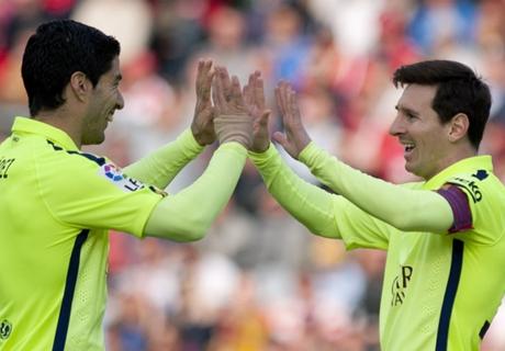 (فيديو) عودة برشلونة لنغمة الانتصارات على حساب غرناطة