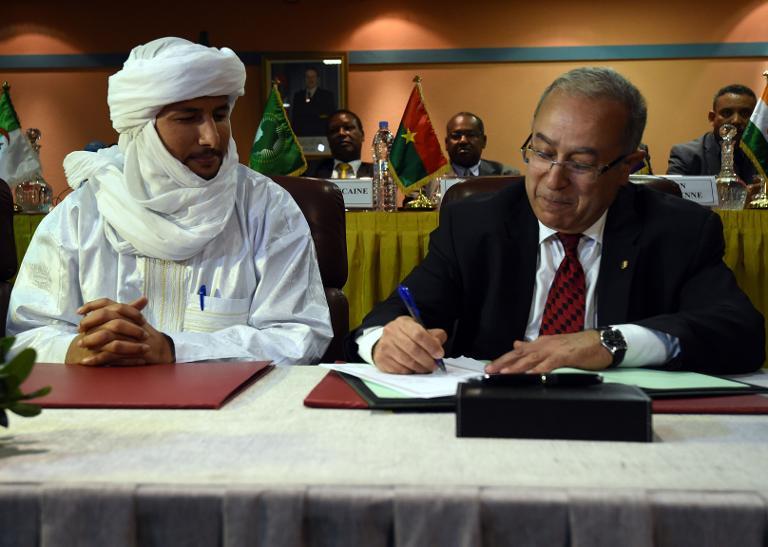الجزائر: أطراف النزاع في مالي يوقعون اليوم اتفاق سلام