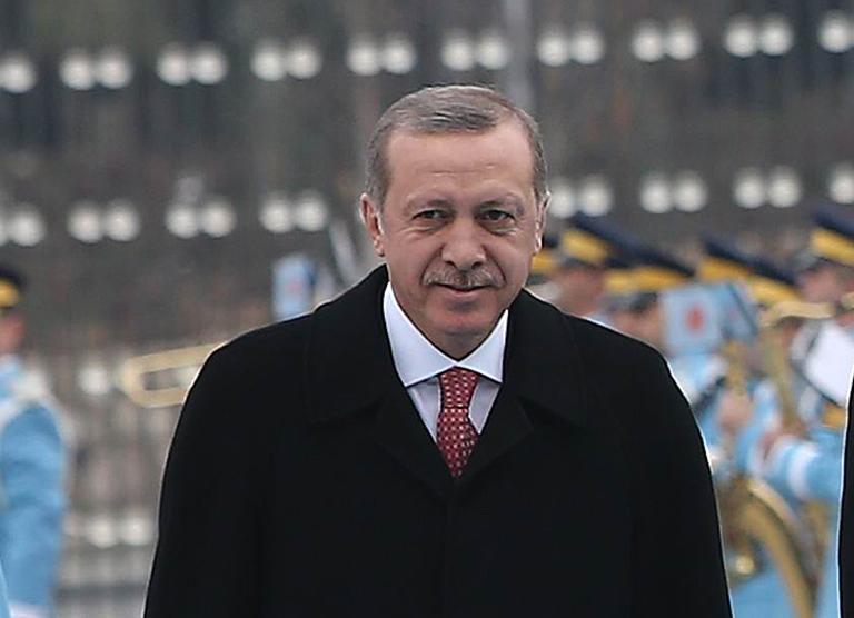 مختبر لفحص طعام أردوغان في قصره خوفا من تسميمه