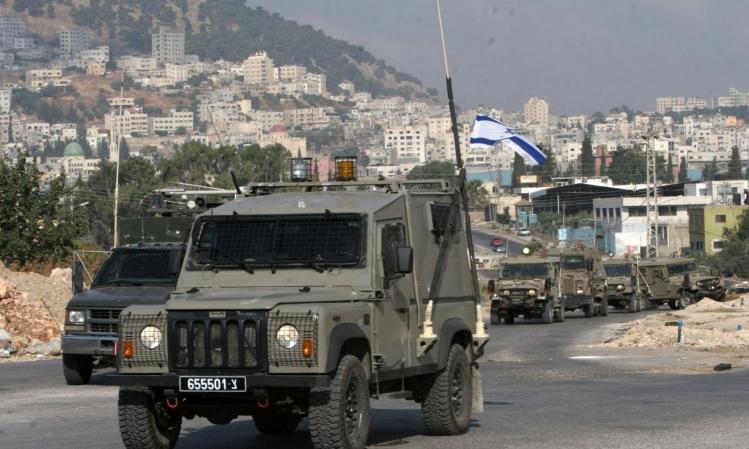 إطلاق نار على مركبة عسكرية للاحتلال قرب قلقيلية
