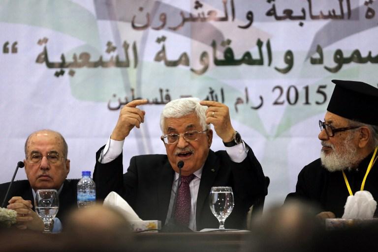 المجلس المركزي الفلسطيني يقرر وقف التنسيق الأمني مع الاحتلال