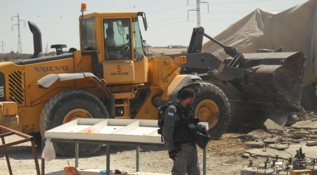النقب: السلطات الإسرائيلية تهدم 50 منزلا منذ مطلع العام