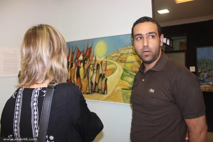 طمرة: معرض فني بصالة كنعان للفنون على شرف يوم الأرض