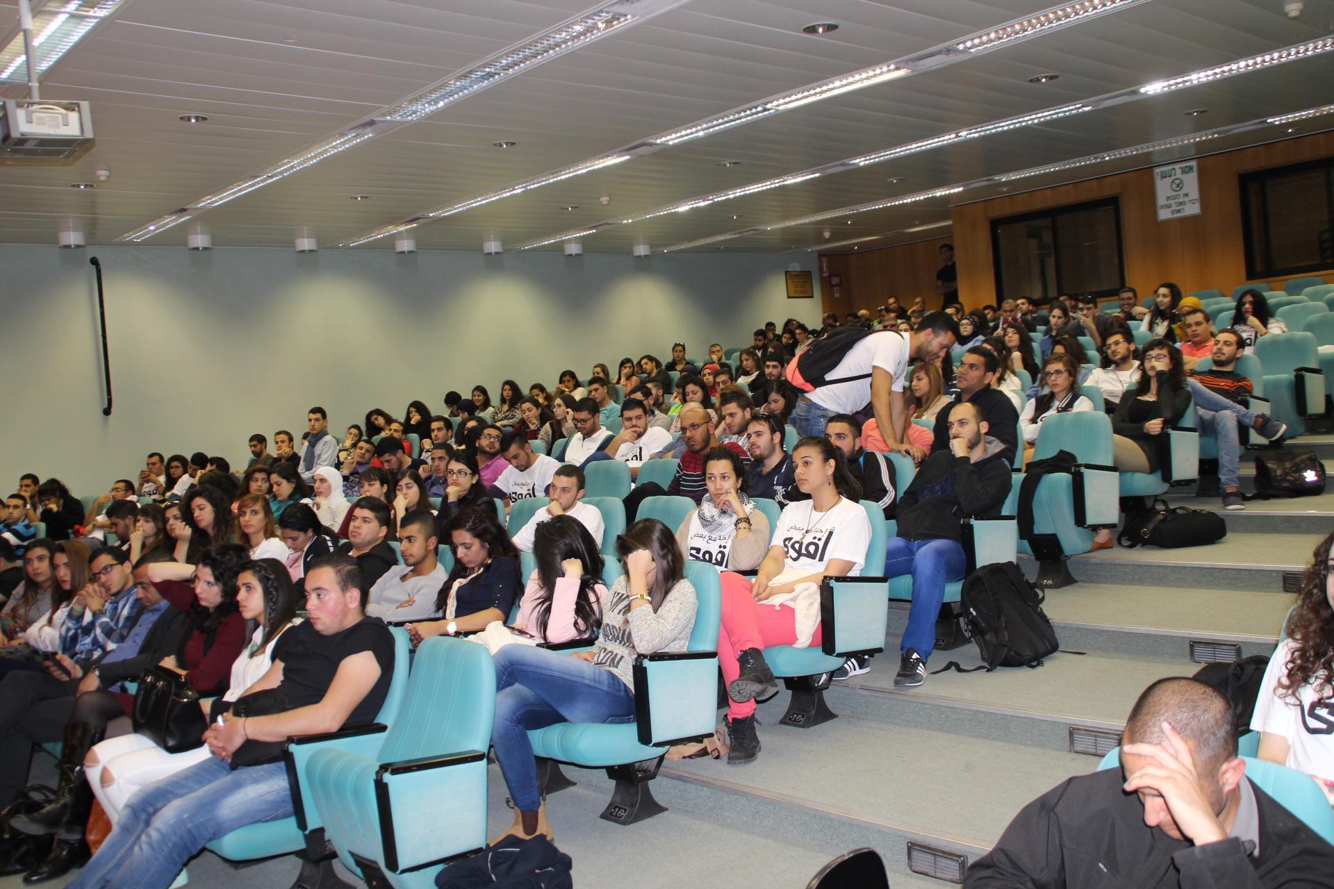 """مهرجان بجامعة حيفا: دعوة إلى أوسع وحدة والالتفاف حول """"المشتركة"""""""