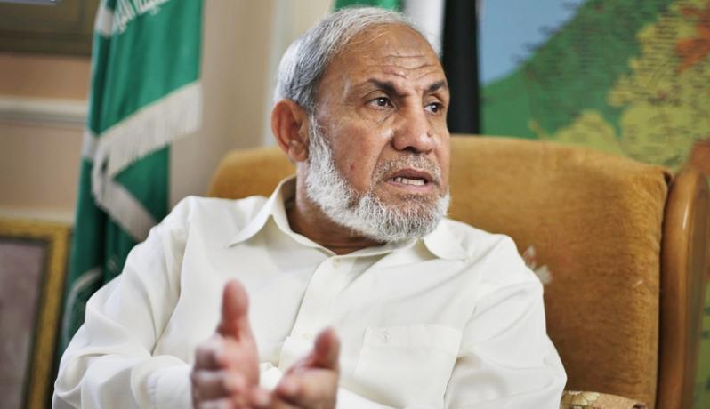الزهار يتهم عباس بـ«التورط في زعزعة أمن غزة»