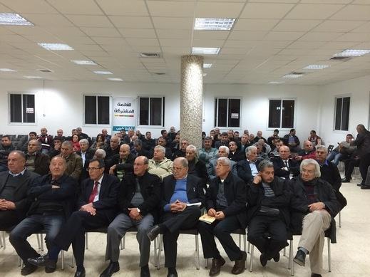 في الطيرة: يراهنون على تعزيز المشتركة وخسارة  نتنياهو