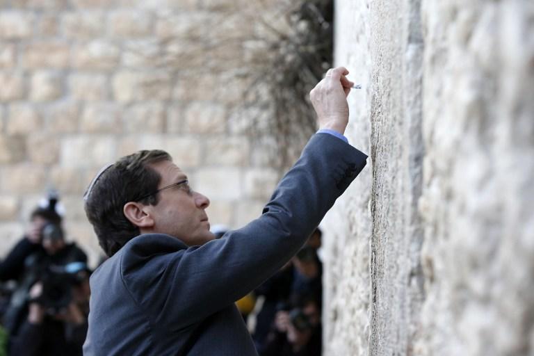 هرتسوغ يؤكد على رفضه لتسوية في القدس