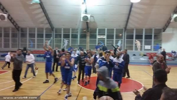 الدرجة الاولى: جت تعود لمسار الانتصارات بكرة السلة
