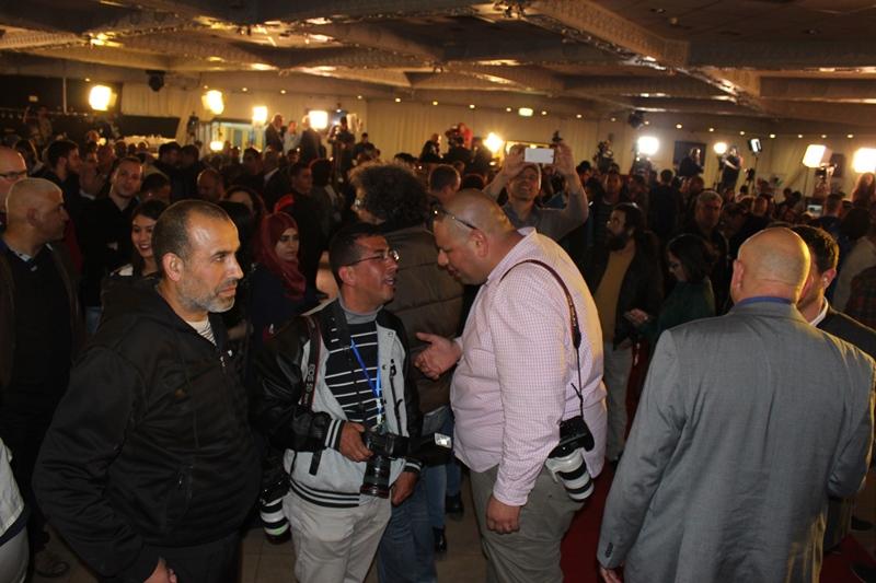 الناصرة: المئات يحتفلون في مقر القائمة المشتركة