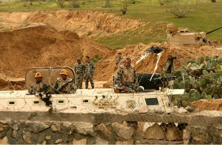 غزة: الجيش المصري يعلن تدمير 194 فتحة نفق على الشريط الحدودي