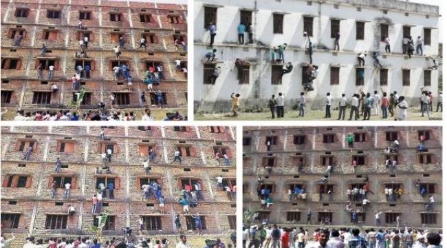 غش جماعي بالهند.. والأهالي يتحدون الشرطة