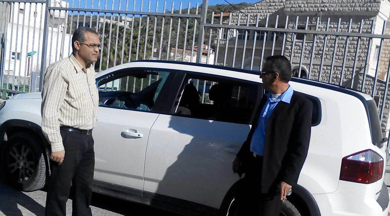 مشيرفة: اعتداء على سيارة مدير مدرسة