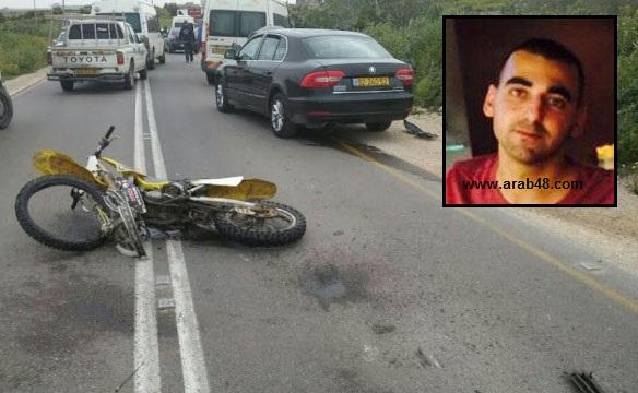 مصرع الشاب صافي هنو من جولس بحادث طرق