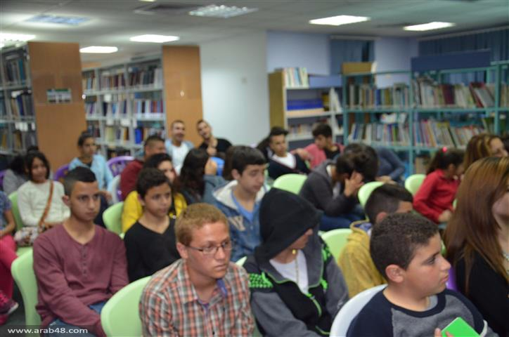"""ندوة ثقافية بعنوان """"مكانة الأرض في الأدب الفلسطيني"""""""