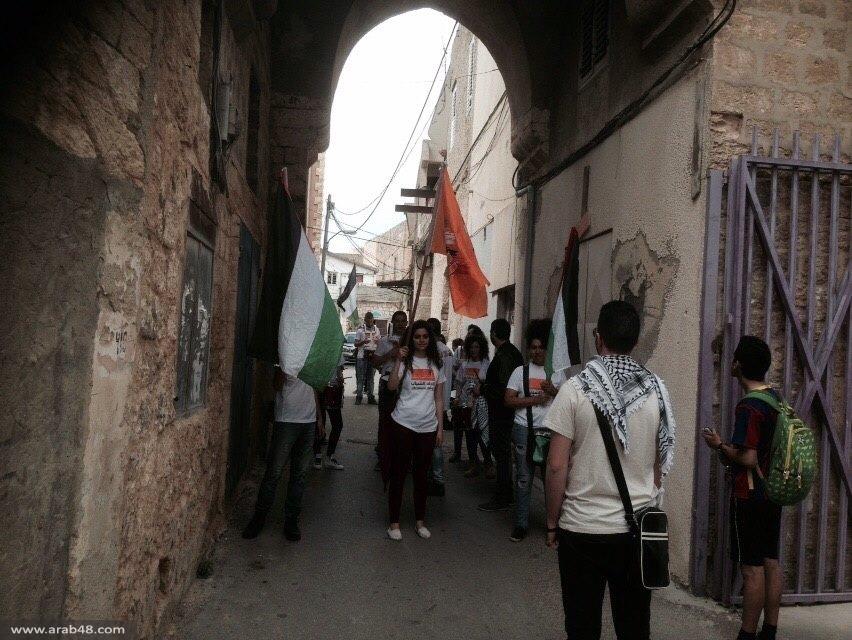 شفاعمرو: كشافة 30 آذار تجوب شوارع المدينة