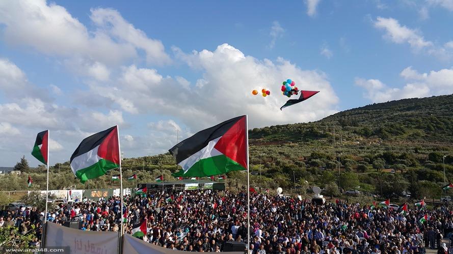 دير حنا: الوحدة عنوان المهرجان الخطابي ليوم الأرض