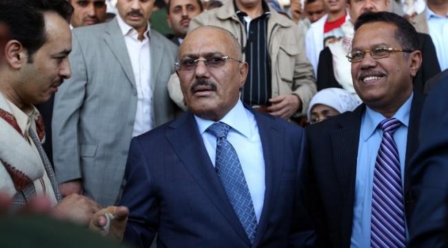 """""""علي عبد الله صالح غادر اليمن بطائرة روسية"""""""