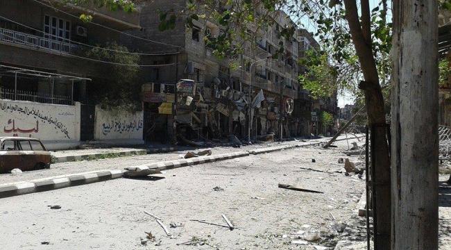 المرصد السوري: «داعش» يسيطر على 90 في المئة من مخيم اليرموك