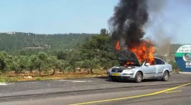 اختناقات مرورية في شارعي الشاطئ ومسكنة بسبب حرائق بمركبتين