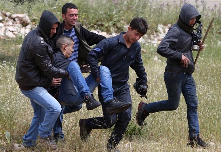 إصابات واعتقالات في قمع مظاهرات الضفة الغربية الأسبوعية
