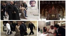 تعميد ابنة كيم كاردشيان في الكنيسة الأرمنية بالقدس