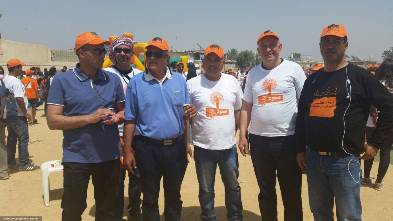 النقب: فعاليات متنوعة في معسكر صمود للعمل التطوعي