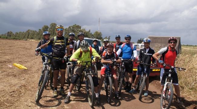 مسيرة دراجات هوائية من الدامون إلى الحدثة