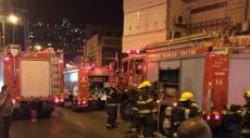 الناصرة: ألسنة النار تلتهم محتويات منزل