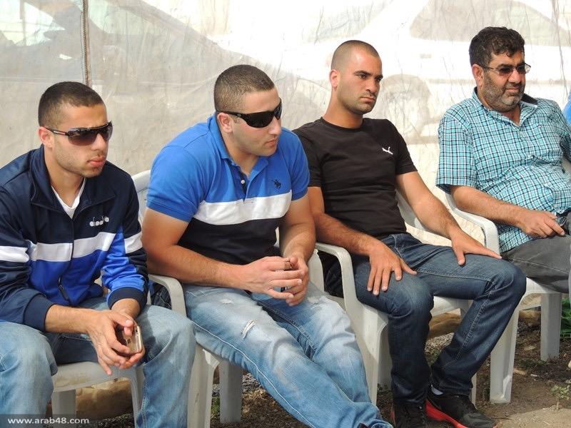 وفد «ترابط» يزور خيمة الاعتصام بقلنسوة: اسرائيل تتصرف كمنظمة إجرام