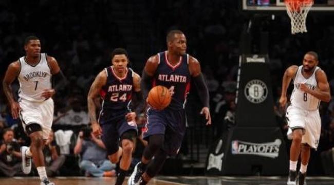 هوكس يجتاز نيتس ويتقدم بالأدوار الإقصائية لدوري السلة الأمريكي