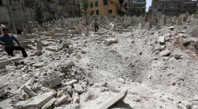 سورية: 40 حالة اختناق بقصف غاز الكلور من قبل النظام