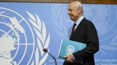سورية: وسيط الأمم المتحدة يبدأ المحادثات مع أطراف النزاع