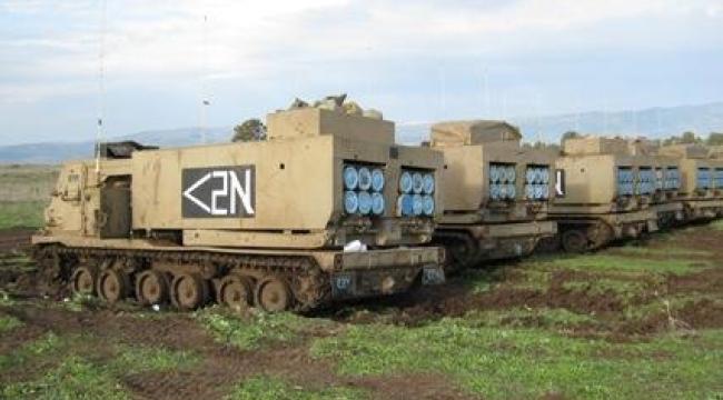 """جيش الاحتلال دشّن صاروخ """"رمح"""" خلال مناورات الأغوار"""