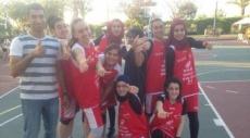 نادي كرة السلة للفتيات بأم الفحم بيوم تطوعي لمرضى السرطان