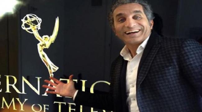 """باسم يوسف... أول مقدّم عربي لـ""""جوائز إيمي"""" العالمية"""
