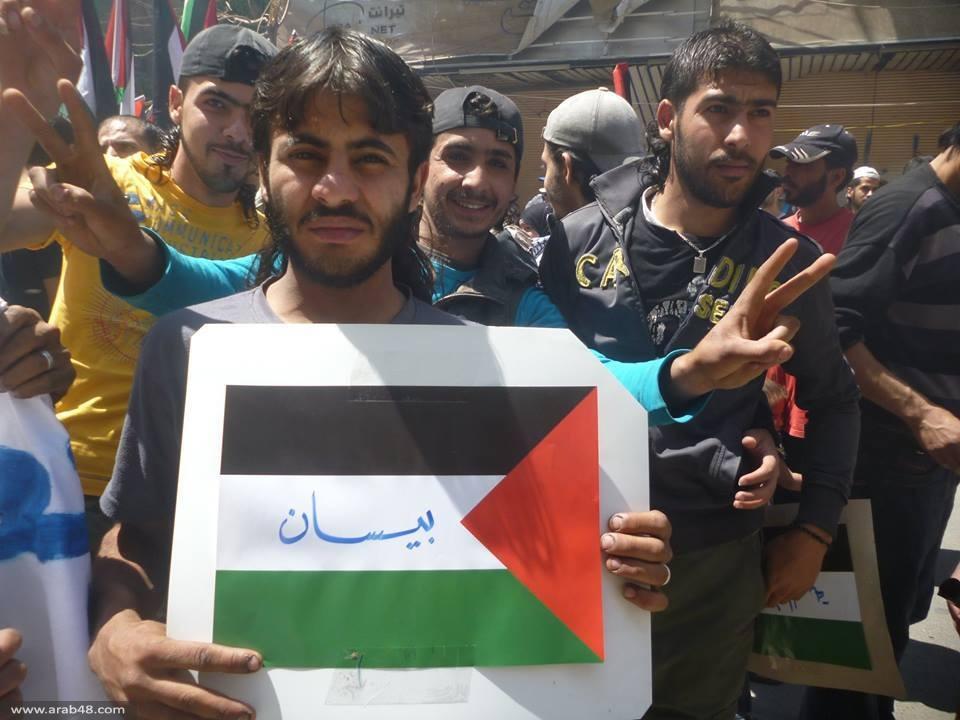 مخيم اليرموك يحيي ذكرى النكبة تحت القصف