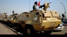 بعد مقتل ثلاثة قضاة: تفجير مدرعة للجيش المصري في سيناء