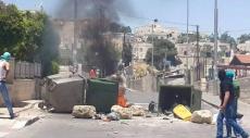 القدس: مواجهات عنيفة مع الاحتلال في جبل المكبر
