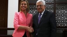 موغيريني تبحث مع عباس سبل إعادة إطلاق العملية السلمية