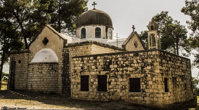 كنيسة قرية معلول المهجرة