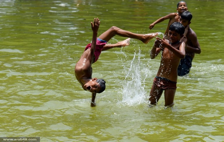 الهند: مصرع 500 شخص جراء موجة الحر الشديد