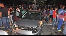 الرينة: إصابات في تصادم مركبتين