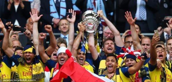 (فيديو) أرسنال يحرز كأس الاتحاد الإنجليزي