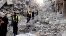 قد يركب البحر؛ جريح فلسطيني سوري: أنقذوا اليرموك